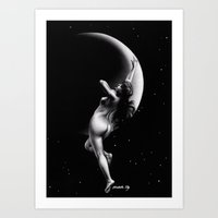 Moon Nymph Art Print