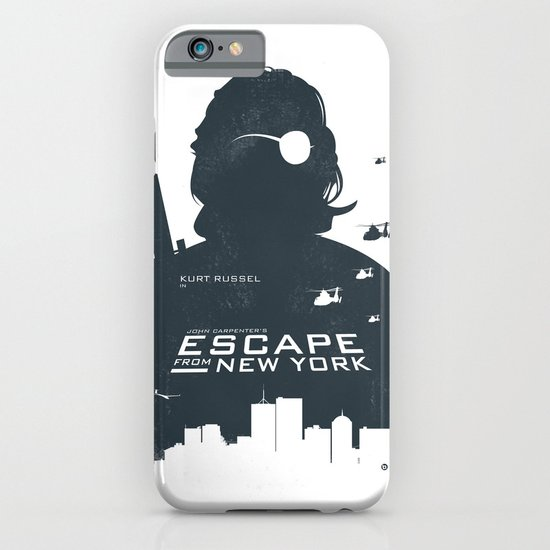 John Carpenter's Escape From New York iPhone & iPod Case
