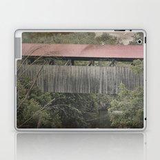 Covered Bridge, 1880 Laptop & iPad Skin