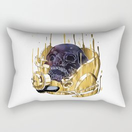 Die with Dream Rectangular Pillow
