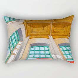 Abandoned room number five Rectangular Pillow