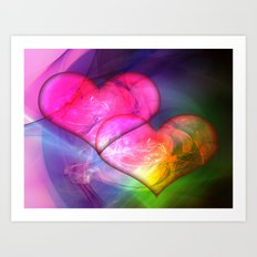 New Love Art Print