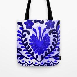 Strange Love Blue Tote Bag