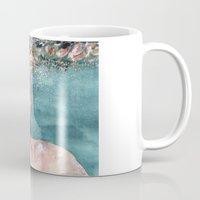 watercolour Mugs featuring Watercolour by Jose Manuel Hortelano-Pi