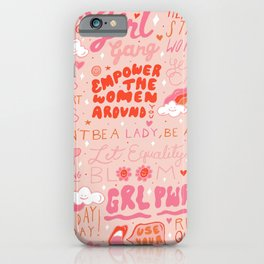 Girls Support Girls iPhone Case