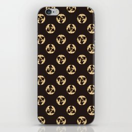 Traditional Japanese pattern TSURU-MARU iPhone Skin
