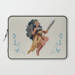Warrior girl Laptop Sleeve