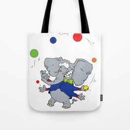 Multi-armed Elephants Never Forget How To Juggle Tote Bag