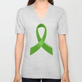 Kidney Cancer Awareness Unisex V-Neck