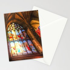 Cathedral Stained Glass Window Stationery Cards