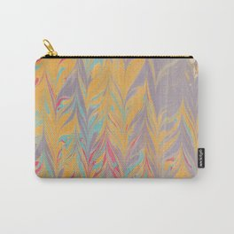 Marbled Pattern V Carry-All Pouch