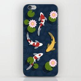 Japanese Koi Fish Pond iPhone Skin