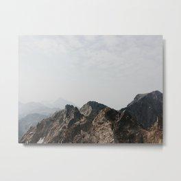 Ain't no mountain high enough  Metal Print
