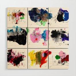 9 abstract rituals (2) Wood Wall Art