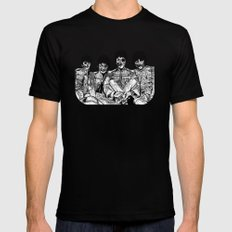 All You Need is Brains Mens Fitted Tee Black MEDIUM