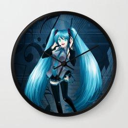 Vocaloid Hatsune Miku Wall Clock