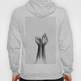 Forearms, inverted Hoody