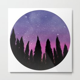 Purple Valley Metal Print