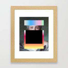 Composition 0152018 Framed Art Print