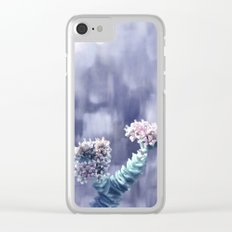 Pastel vibes floral II Clear iPhone Case