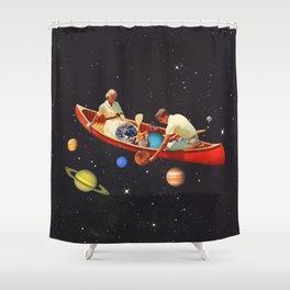 Big Bang Generation Shower Curtain