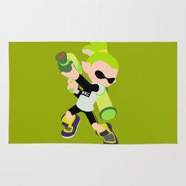 Inkling Boy (Green) - Splatoon Rug