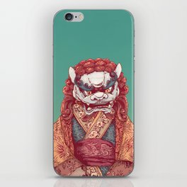 Imperial Guardian Lady iPhone Skin