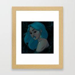 """We Cannot Speak Above the Ground"" Framed Art Print"