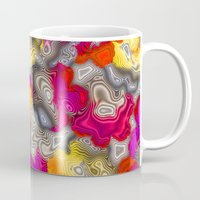 psychedelic Mugs featuring Psychedelic by Pat Giancontieri -Artzlady-