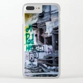 Rundown Church Clear iPhone Case