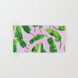 Banana Leaf (Pink) Hand & Bath Towel