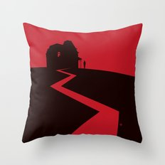 Alfred Hitchcock's Psycho Throw Pillow