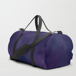 Deep Violet Tie Dye Duffle Bag