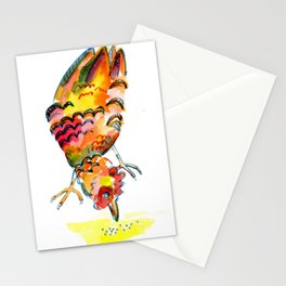 Pecking Hen Stationery Cards