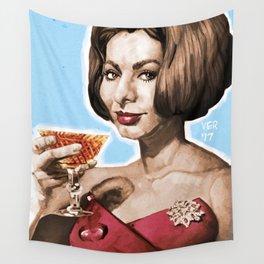 Sophia Loren Wall Tapestry