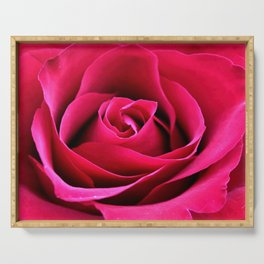 Red Rose Love Serving Tray