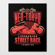 Neo-Tokyo Street Race Champion Canvas Print