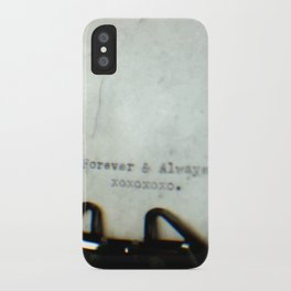 Forever and Always TTV iPhone Case