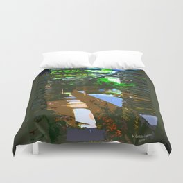 Painted Arch Way  Duvet Cover
