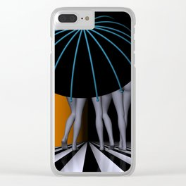 3 colors for your wall -3- Clear iPhone Case
