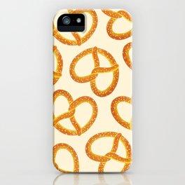 Pretzel Party iPhone Case