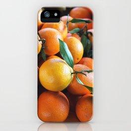 Beautiful Fruit - Oranges iPhone Case
