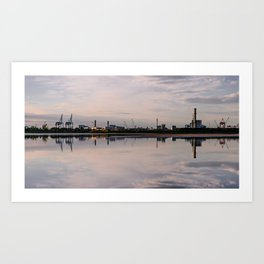 Sunset at Sandymount Art Print