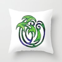 plants Throw Pillows featuring Plants by Abundance