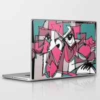sneaker Laptop & iPad Skins featuring Sneaker Guy by 5wingerone