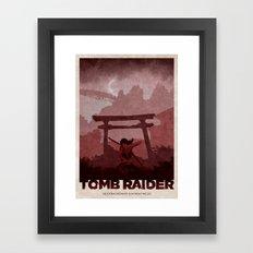 Tomb Raider (2013) Framed Art Print