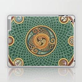 Celtic Knotwork Shield Laptop & iPad Skin