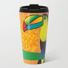Toucan -Yellow Travel Mug