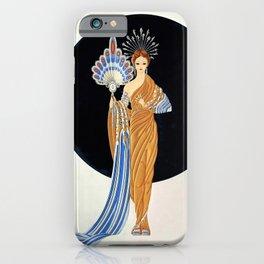 "Art Deco Illustration ""Athena"" iPhone Case"