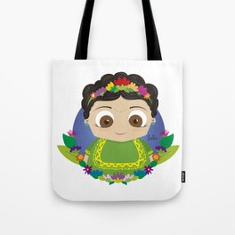 Cute Frida Tote Bag